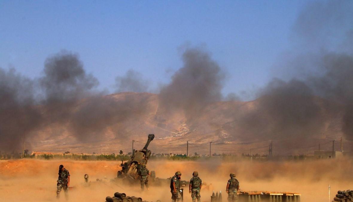 """عام و""""فجر الجرود"""" متواصلة... الجيش يُحكم قبضته على الحدود الشرقية"""