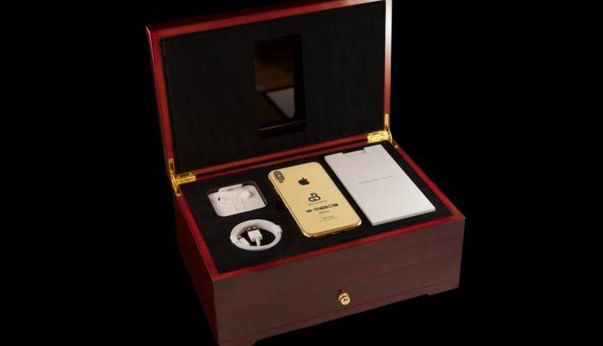 نسخة ذهبية مقبلة من هاتف أيفون بسعر 127 ألف دولار
