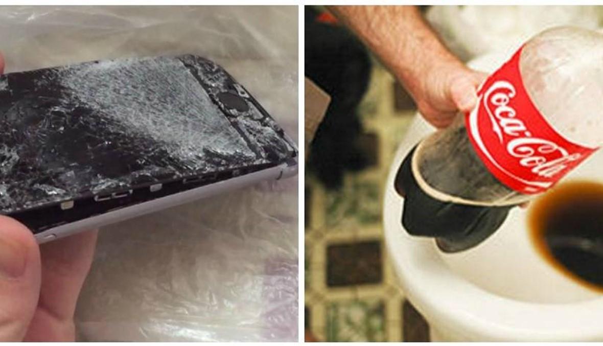 أتراك يحطّمون هواتفهم ويرمون الكوكا كولا في المرحاض (فيديو)