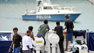 مهاجرون عالقون في صقلية: إيطاليا تصعّد لهجتها في وجه الاتّحاد الأوروبي