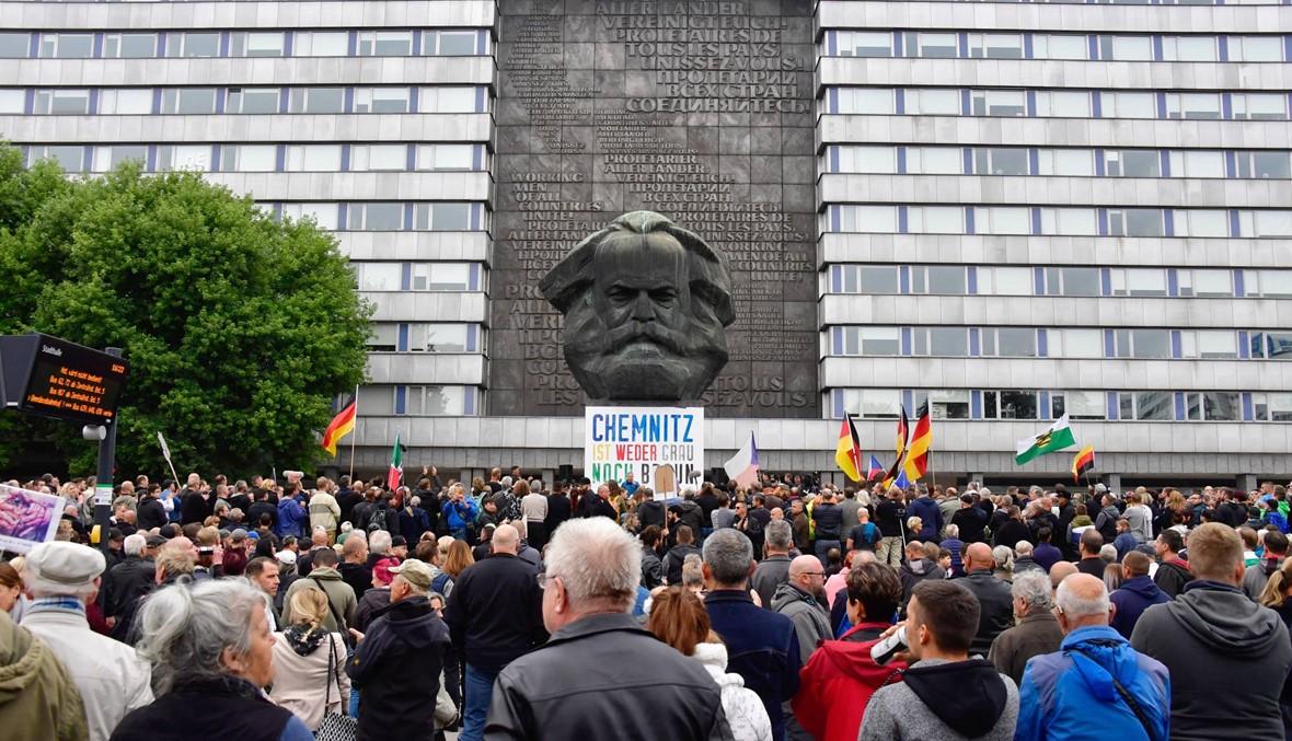 ألمانيا: تظاهرة جديدة لليمين المتطرّف في كيمنتس... صدامات مع الشرطة توقع 18 جريحاً