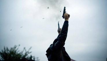 بالصور: رصاصة طائشة في حلبا كادت تودي بطفل