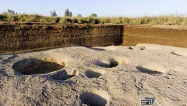 آثار قرية من العصر الحجري الحديث في دلتا مصر