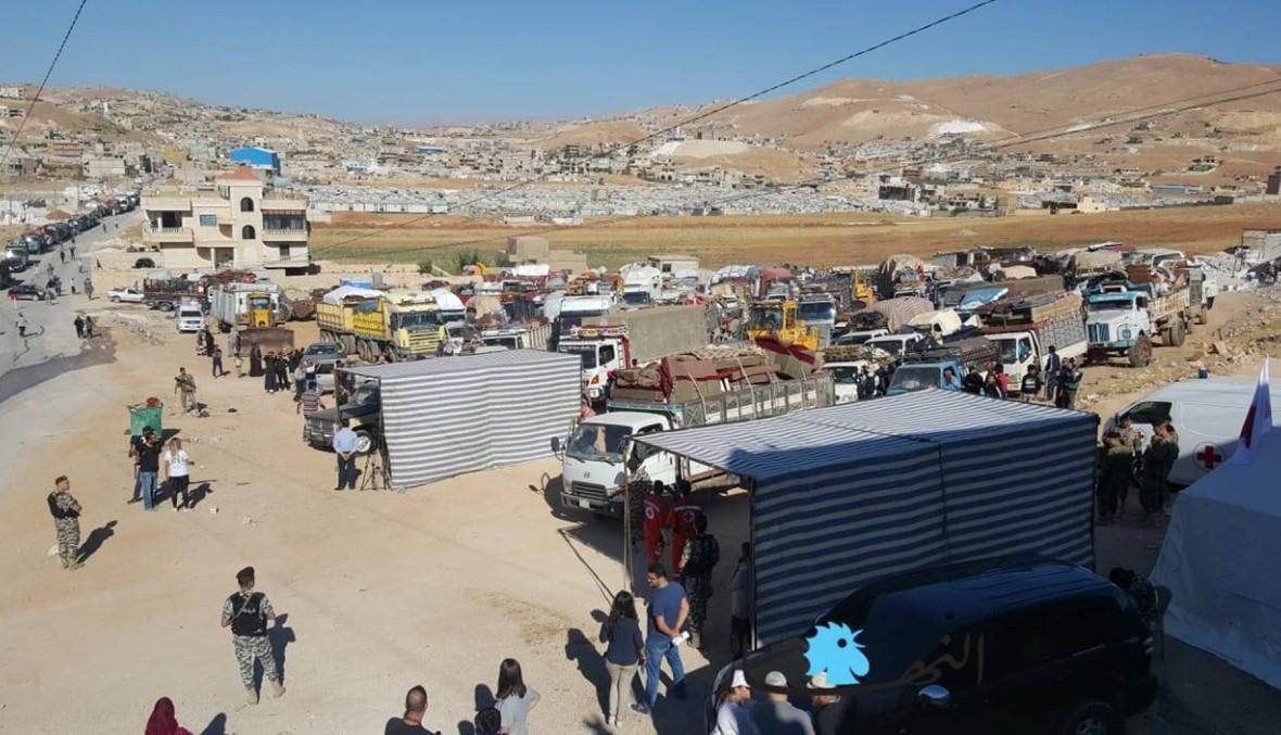 الأمن العام أعلن وقف العمل في مركز عرسال المخصص لتسوية اوضاع السوريين
