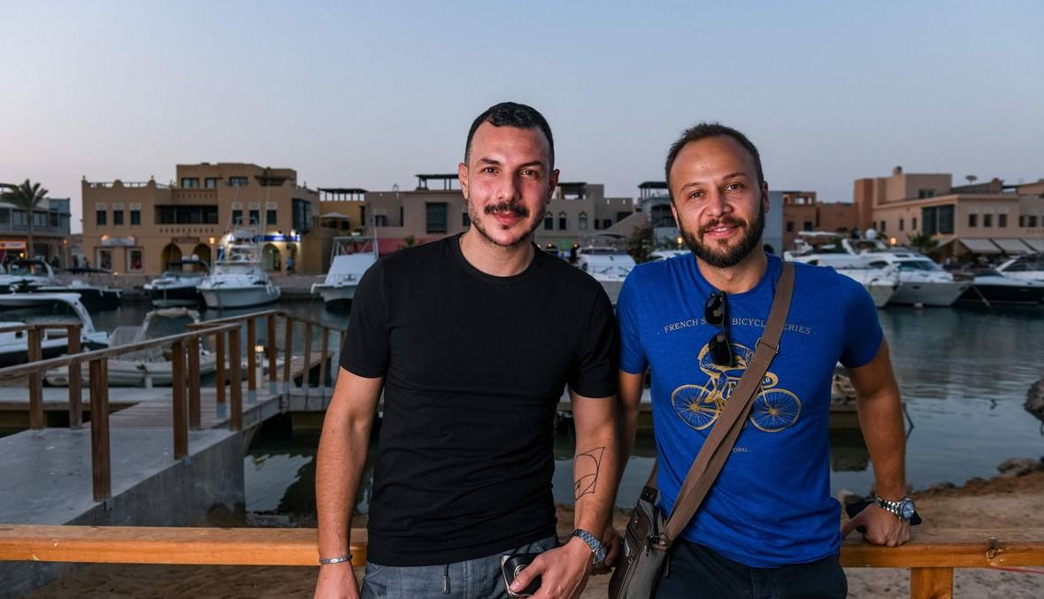 كيف يمضي نجومنا العرب أوقاتهم  في الجونة بالصور