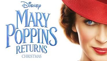 """ماري بوبينز """"العيّوقة القاسية"""" تعود بعد 54 عاماً!"""