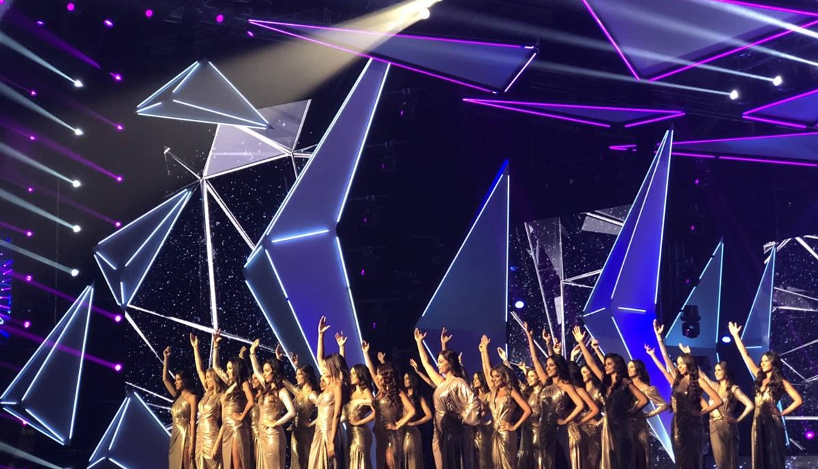The crowning of Miss Lebanon 2018 on a glamorous night
