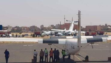 تصادم بين طائرتين عسكريتين في مطار الخرطوم: إصابة ثمانية
