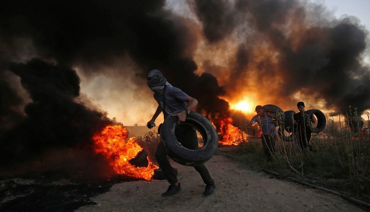 مواجهات في غزة: 5 فلسطينيّين قضوا برصاص الجيش الإسرائيلي