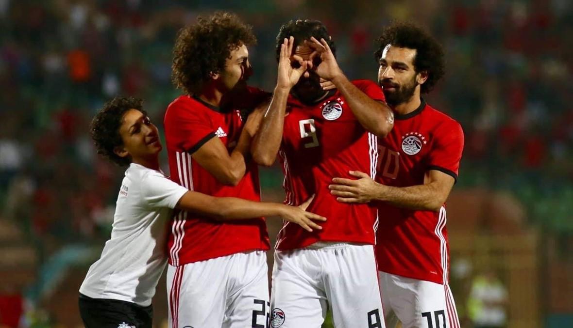 """فوز مصر على إي سواتيني... وإصابة """"مقلقة"""" لصلاح (صور)"""