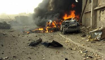 """انفجار سيارة مفخخة في شمال العراق... """"مقتل 4 وإصابة 15 وعدد القتلى قد يرتفع"""""""