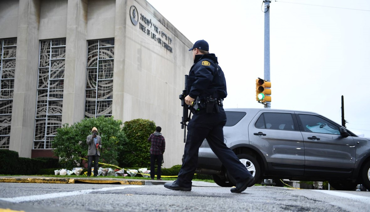"""الهجوم على كنيس بيتسبرغ: توجيه 29 تهمة إلى باورز... """"الكراهية لن تنتصر"""""""