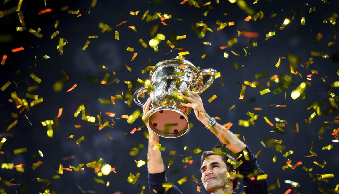 دورة بازل: فيديرر يحرز لقبه الـ99 في مسيرته
