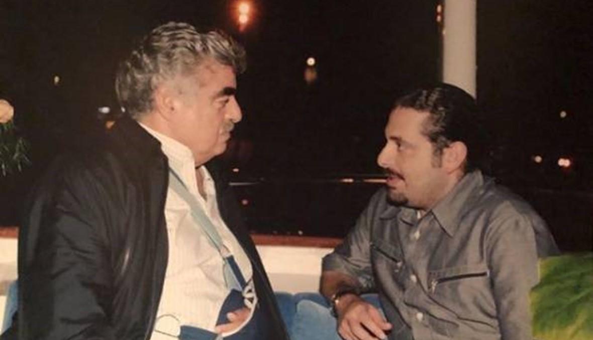 """سعد الحريري يعايد والده الشهيد: """"على خطاك"""""""