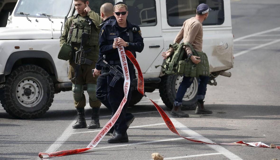 محاولة طعن في الضفة: الجيش الإسرائيلي يطلق النّار على فلسطيني