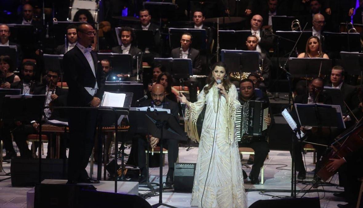 """ماجدة الرومي في مهرجان الموسيقى: """"مصر الحضن الدافئ لنا"""""""