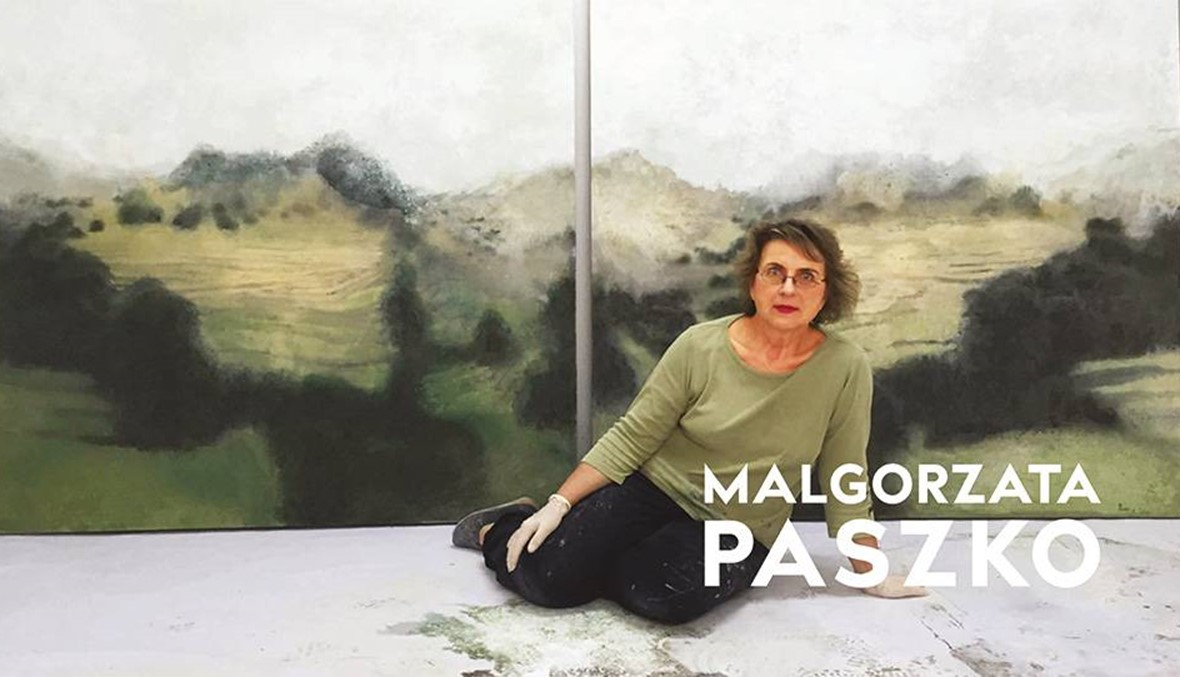"""مالغورزاتا باشكو معرضاً استعادياً في """"غاليري أليس مغبغب"""" الأشرفية"""
