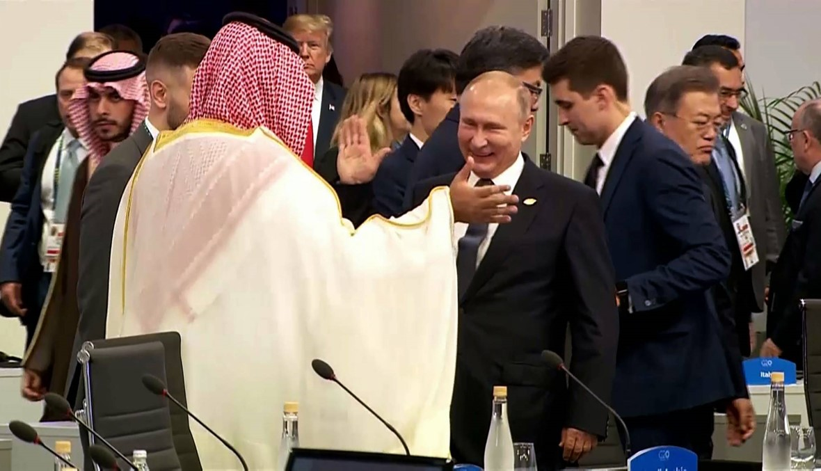 مصافحات وابتسامات... قادة العالم يرحّبون بولي العهد السعودي في قمّة العشرين