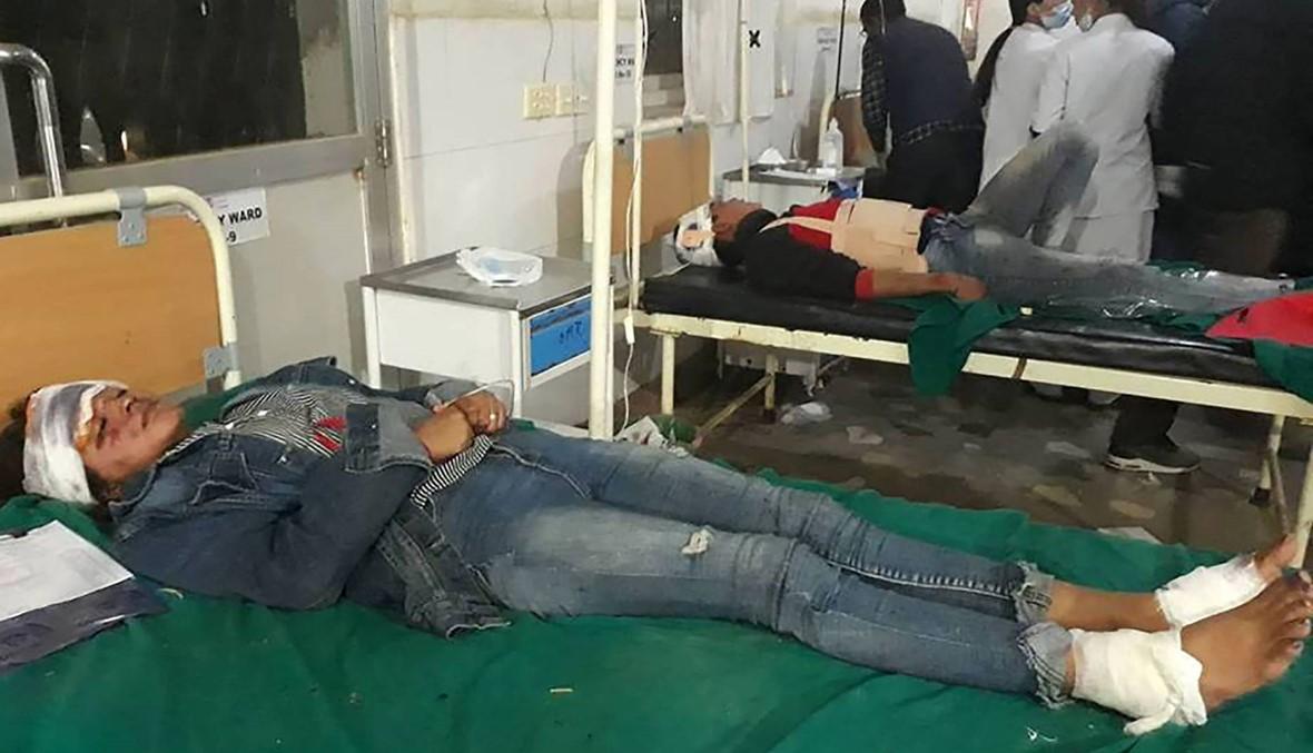 23 قتيلاً في حادث حافلة مدرسية في نيبال