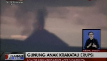 """ماذا تعرف عن بركان """"كراكاتوا الصغير"""" مُسبّب كارثة اندونيسيا؟"""