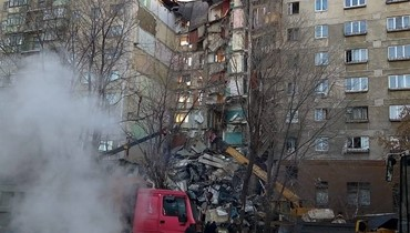 العثور على رضيع حي تحت الأنقاض بعد انفجار غازي في روسيا