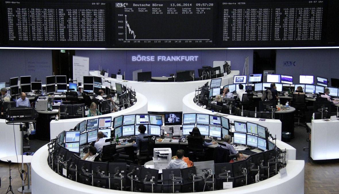 تحذير أبل يهز الأسهم الأوروبية مع تهاوي صناع الرقائق