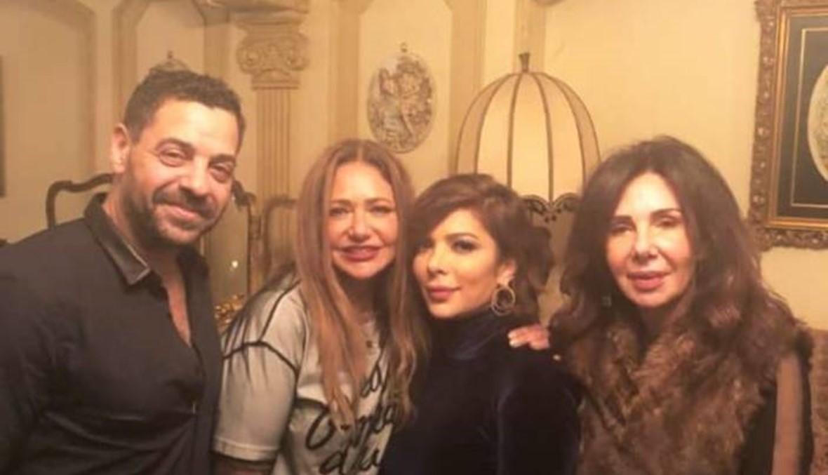 ألمع النجوم في عيد ميلاد ليلى علوي... دينا ترقص على أنغام أصالة (فيديو)