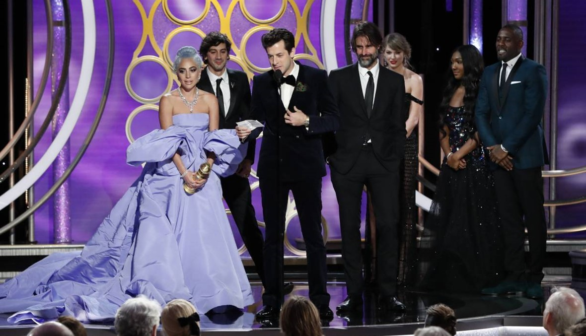 """دموع ليدي غاغا في """"غولدن غلوب"""": """"هؤلاء الرّجال دعموني"""" (فيديو)"""
