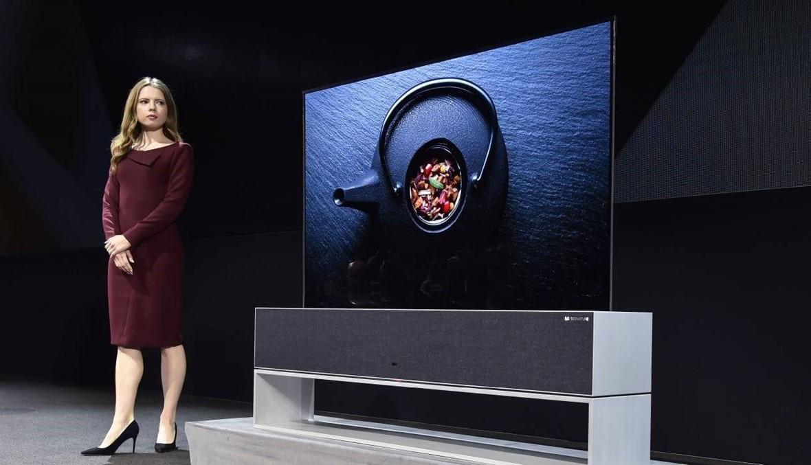 بالفيديو: تعرفوا إلى تلفاز LG SIGNATURE OLED TV R الجديد كلياً: أول تلفاز قابل للطي في العالم