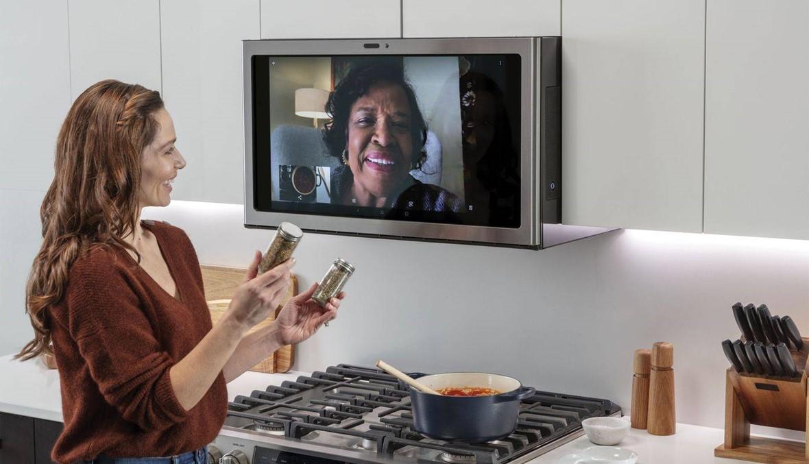 """شاشة ذكية من """"جنرال إلكتريك"""" لتحل بدلاً من مروحة المطبخ التقليدية وبهذا السعر فقط!"""