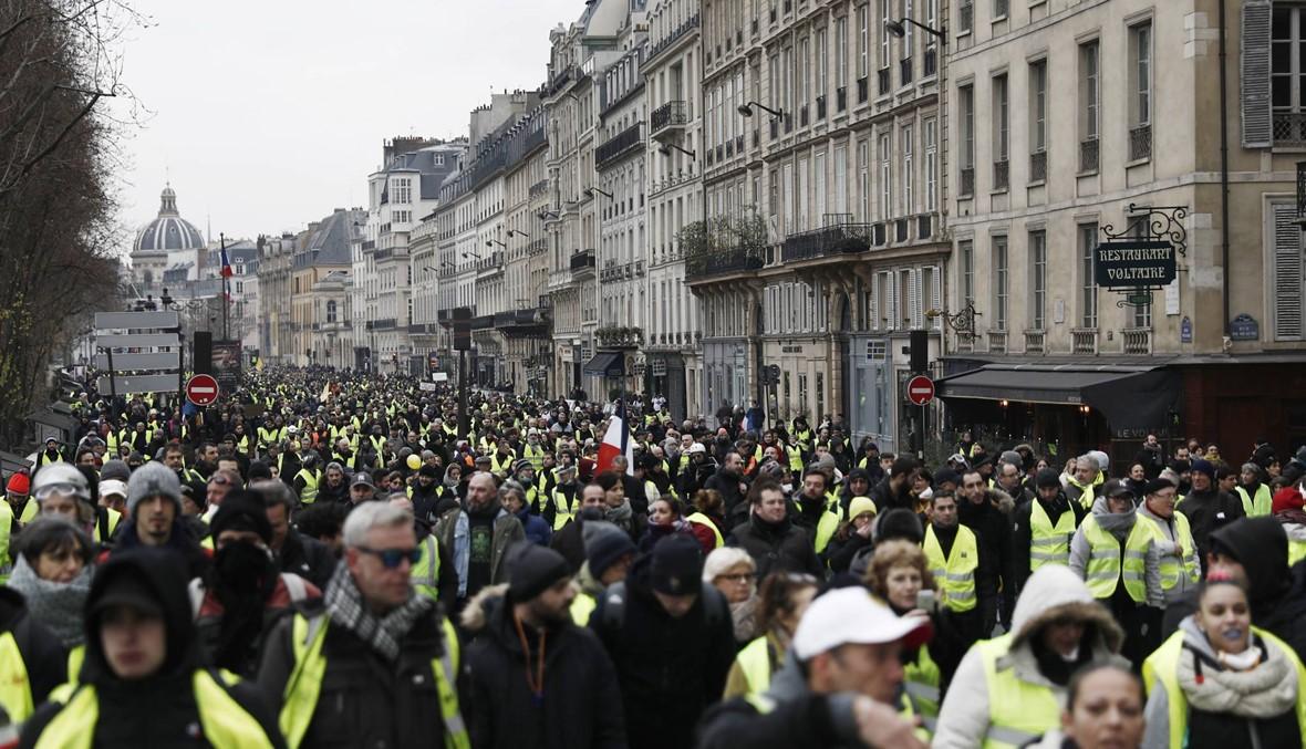 """الأسبوع التّاسع لاحتجاجات """"السترات الصفر"""": فرنسا تستعدّ لتعبئة أكبر للمتظاهرين السبت"""
