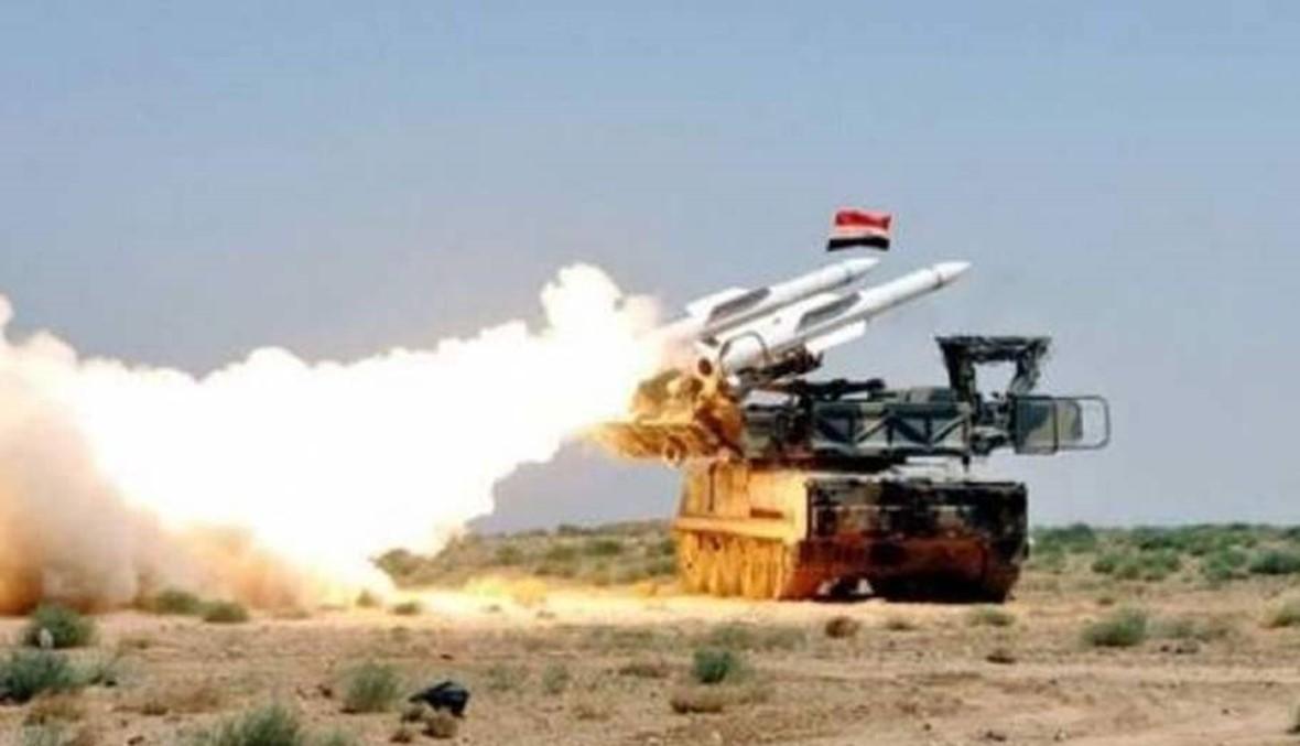 """""""سانا"""": الدفاعات الجوية السورية تتصدى لأهداف معادية وتسقط عدداً منها"""