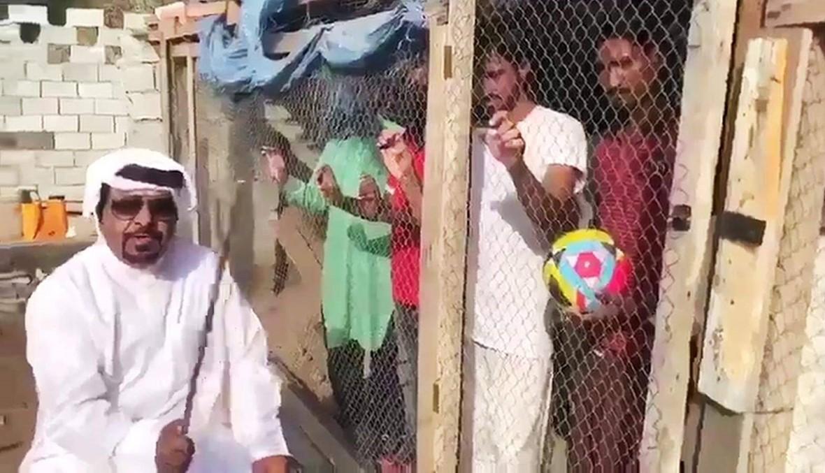 الشرطة تقبض على إماراتي احتجز هنوداً في أقفاص حيوانات لسبب غريب (فيديو)