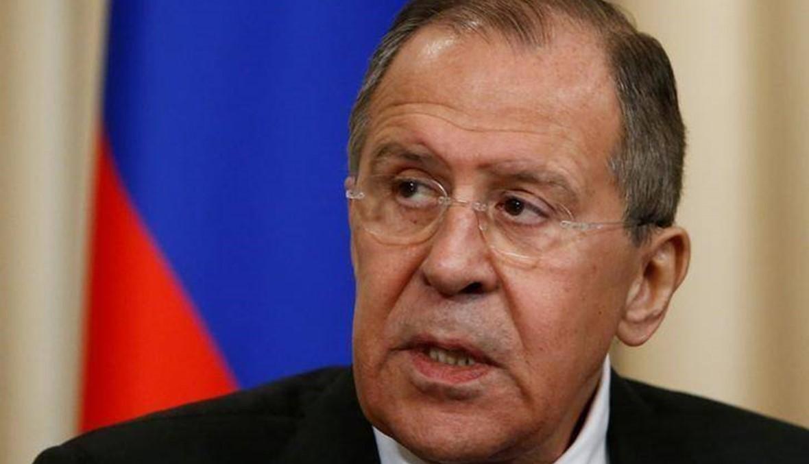 """لافروف: موسكو وطوكيو """"بعيدتان عن وضع الشريكين"""""""