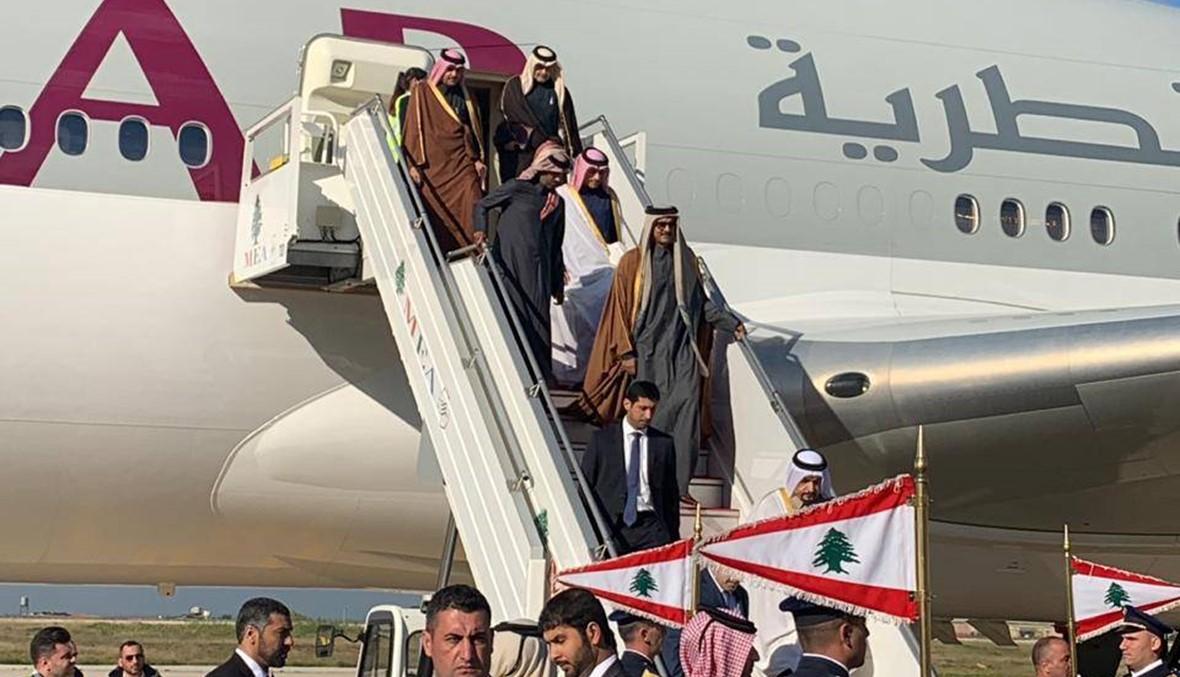 القمة العربية التنموية تنعقد اليوم... أمير قطر في بيروت