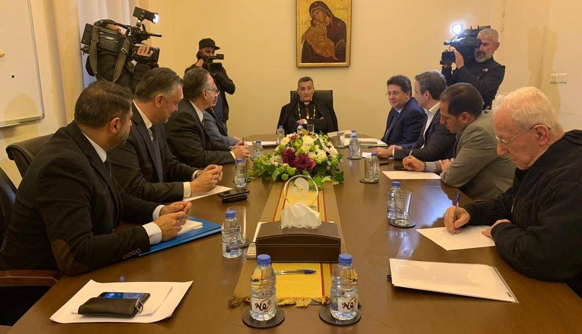 اجتماع اللجنة المنبثقة عن لقاء النواب الموارنة