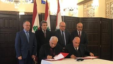 انشاء المركز التدريبي الأوّل في لبنان لمواجهة مخاطر المواد الكيميائية والإشعاعية والنووية