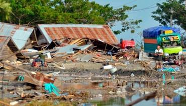هزة بقوة 6,1 درجات في غرب اندونيسيا
