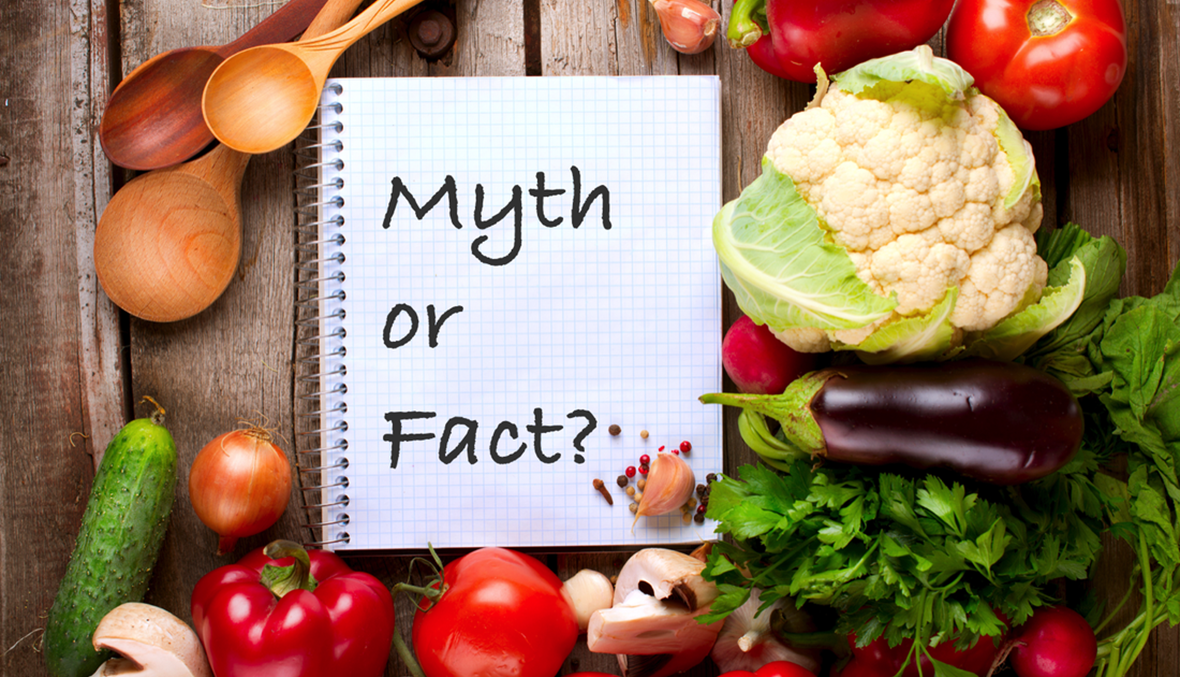 4 معتقدات خاطئة و3 صحيحة في التغذية...تعرف إليها