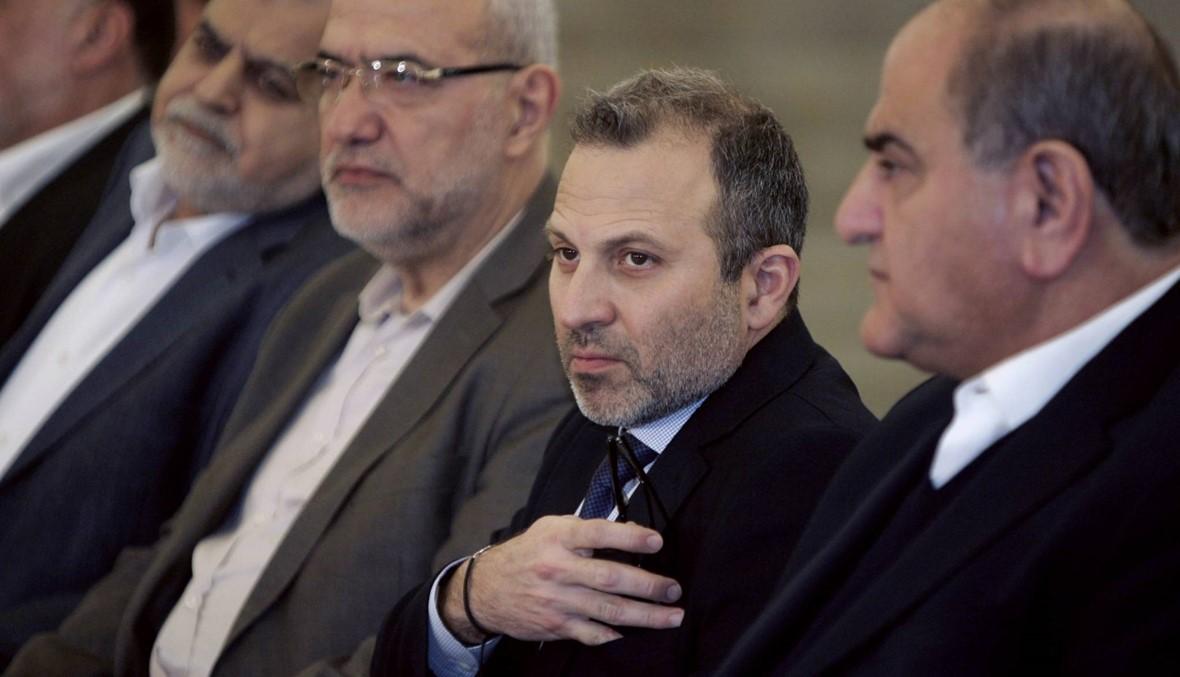"""ذكرى وثيقة التفاهم... باسيل: على """"حزب الله"""" ان يقر انه لولا """"التيار"""" لما كان صمد في وجه اسرائيل والإرهاب"""