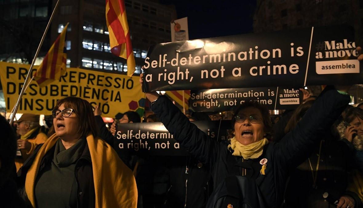 """انفصاليو كاتالونيا رفضوا عرض مدريد """"اجراء مباحثات... """"الوضع متعثّر"""""""