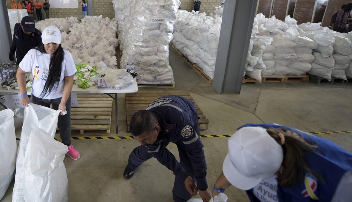 """مادورو يرفض إدخال المساعدات الإنسانيّة """"الاستعراضيّة"""" إلى فنزويلا"""