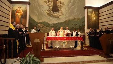 """كنيسة للموارنة في المغطس، و""""سنبدأ الحفر"""": رعية مار شربل في عمان احتفلت بعيد مار مارون"""