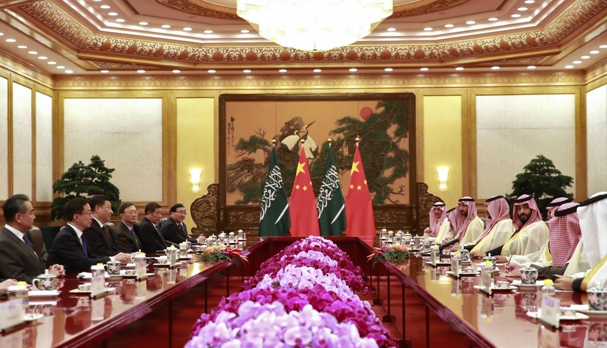 الأمير محمد بن سلمان التقى الرئيس الصيني في بيجينغ:توقيع اتّفاق نفطي بقيمة 10 مليارات دولار