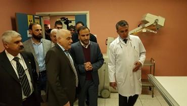 جبق من عكّار: سأقيل أي مسؤول عن اي حادثة وفاة على أبواب المستشفيات
