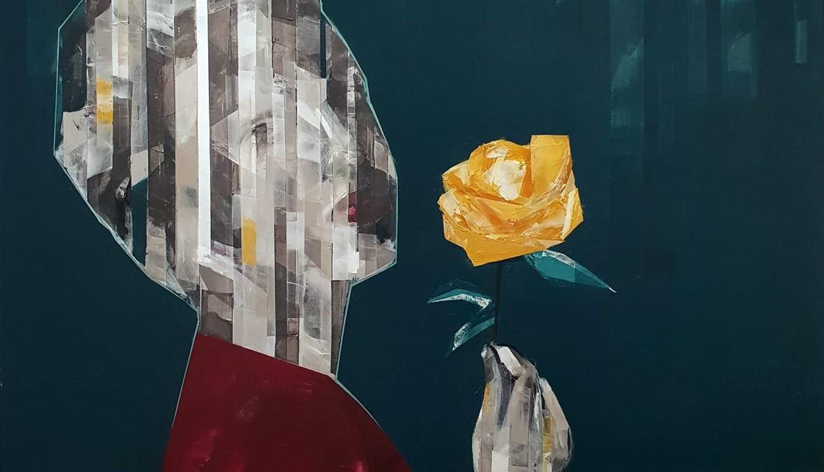 """بشر قوشجي """"يشوّش"""" الواقع ليعيد خلقه بالفنّ في """"غاليري آرت أون 56"""""""