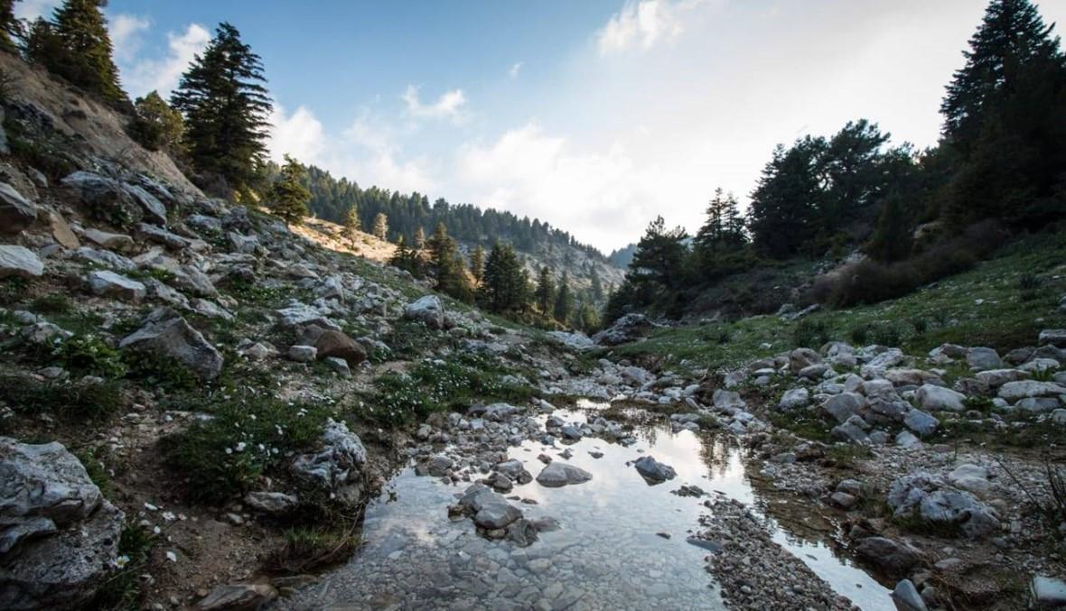 """رحلة مجموعة """"درب عكار"""" في يوم المحميات الطبيعية"""