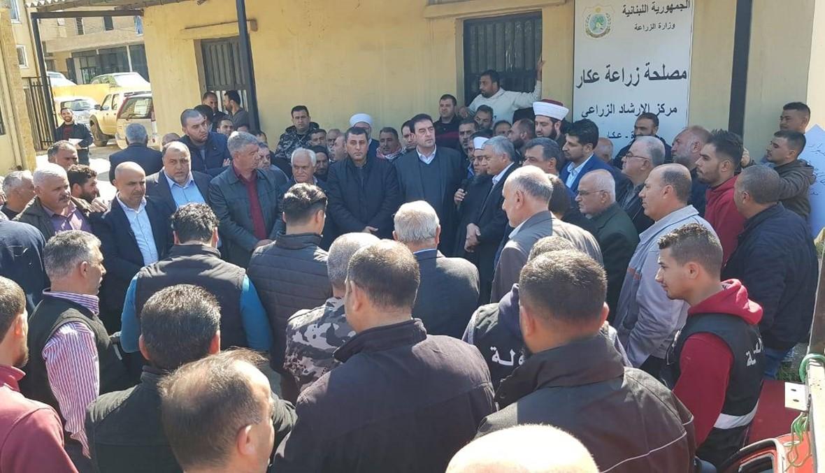 اعتصام لمزارعي البطاطا في عكار: لن نقبل بأن تُهدر حقوقنا