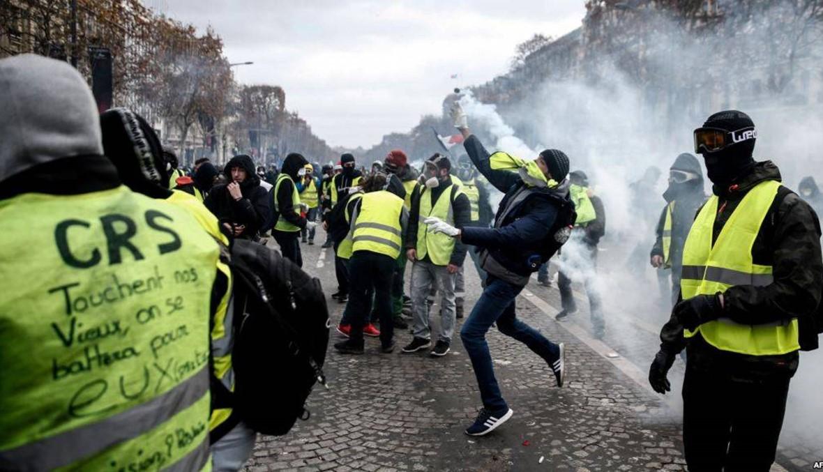 إقالة قائد شرطة باريس بعد اعمال العنف السبت