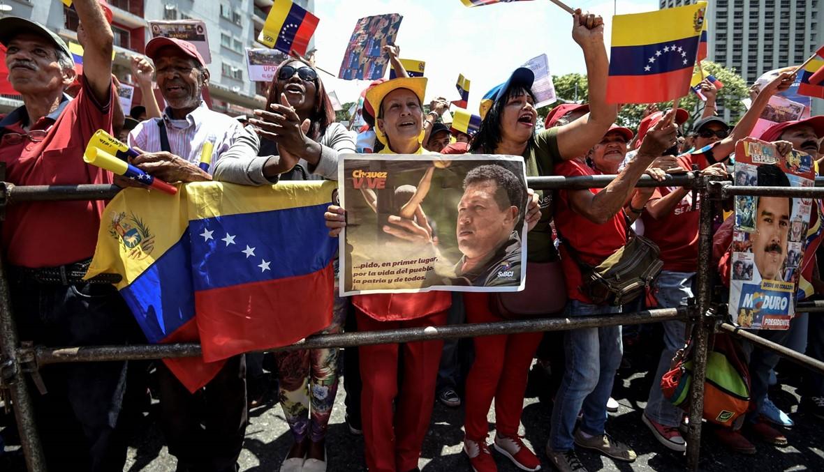 """بومبيو: واشنطن لن """"تقف مكتوفة الأيدي"""" حيال دور موسكو في فنزويلا"""